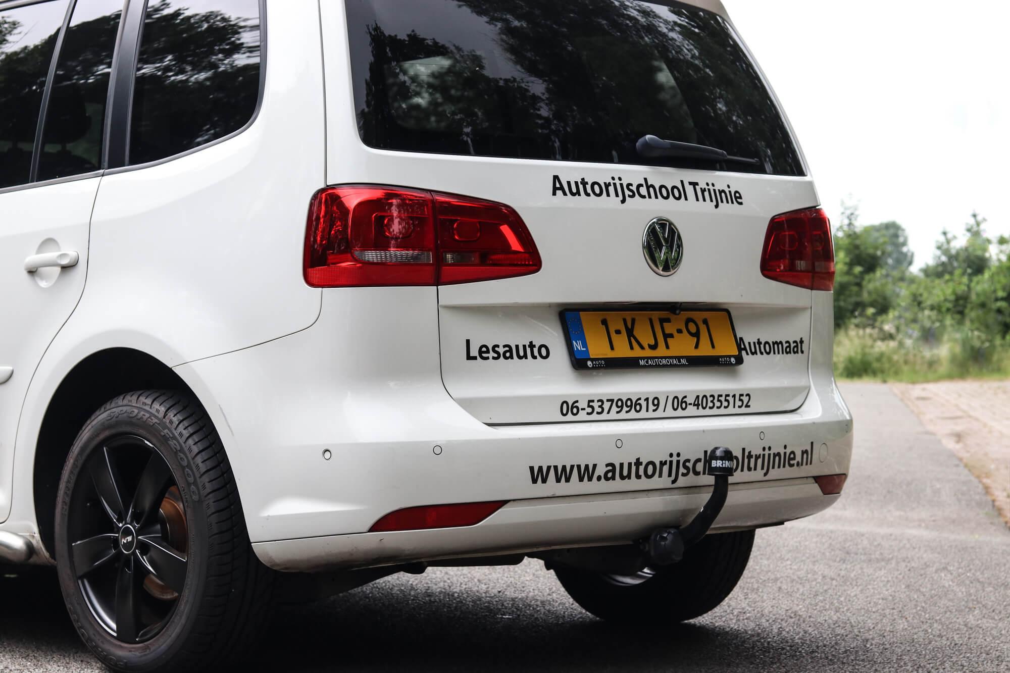Volkswagen Touran achterkant